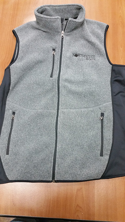 Full Zip Fleece Vest photo
