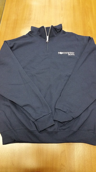 Jerzees 1/4 Zip Sweatshirt photo